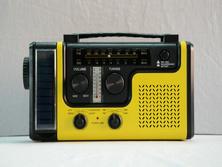 CE/RoHS/FAC a approuvé la fréquence AM/FM Radio dynamo solaire ABS