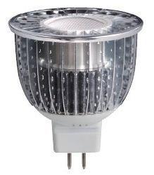 7W 12V MR16 LED sabugo em destaque