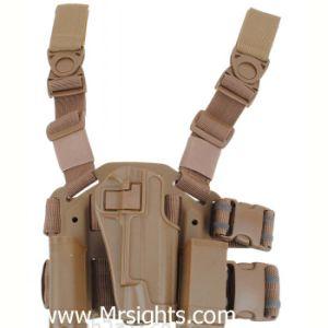 Для пистолета 1911 коричневый цвет тактические военные CQC пистолет заправочный пистолет и чехол