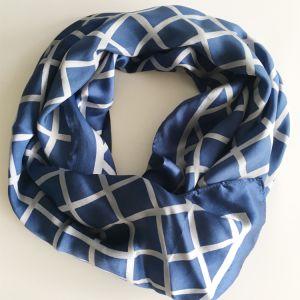 方法100%絹のサテンの長いスカーフの卸売(SC007)