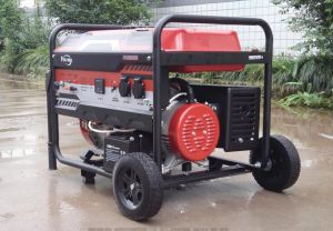 La parte superior de la energía gasolina Generador Gasolina 5000W a 188F Motor OHV