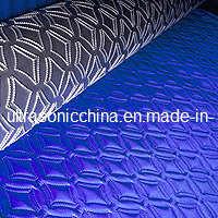 Machine gravante en refief ultrasonique pour des tissus de polyester (avec du CE)