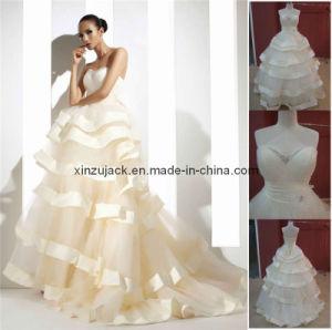 Het Huwelijk Dress/Gown T10293 van het Kant van de Taille van het imperium