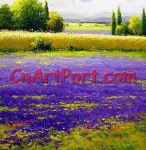 De Schilderijen van het Landschap van het impressionisme (Lani0442)
