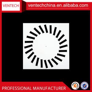 空気調節の換気のアルミニウム正方形の渦巻の拡散器