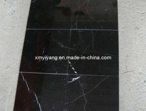 Zwarte/de Marmeren Tegel van Nero Marquina voor de Muur van de Bevloering (YY - MT008)
