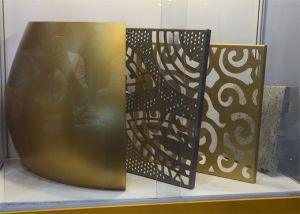 Шторка стены перфорированный алюминиевый лист и декоративные настенные панели управления