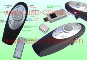 Беспроводная лазерная мышь USB для презентаций с Track-Ball (SC-LP-515B)
