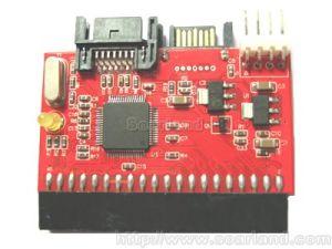 SATAのアダプターのアダプター(SLSA2004)に40-Pin IDEまたはATA 3.5  IDEへのSATA