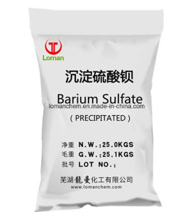 Coating&Panit /Baso4 98% 안료 가격을%s 백색 분말 바륨 황산염