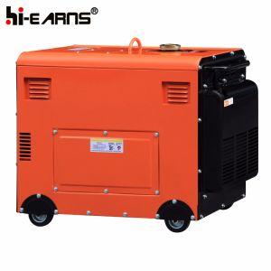 Luftgekühlter leiser Typ Dieselgenerator (DG7000SE)
