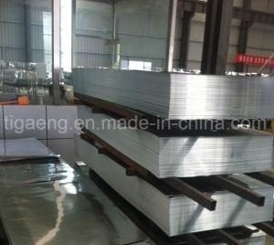 Tipo de corrugación de acero galvanizado recubierto de zinc hojas de techos en Africa