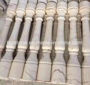 庭の装飾のためのカスタマイズされた自然な大理石または花こう岩のコラムかローマのコラムまたは石の柱または石のコラム
