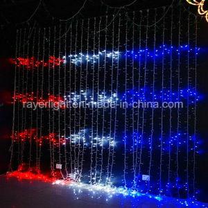 Hochzeits-Dekoration-Partei beleuchtet Schubumkehrgitter der Wasserfall-Beleuchtung-LED