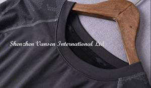 Il manicotto lungo Drip-Dry dell'occhio dell'uccello mette in mostra la maglietta