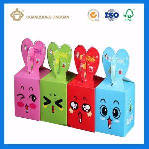 Contenitore di carta di spuntino del bambino del contenitore di caramella dei bambini del fumetto