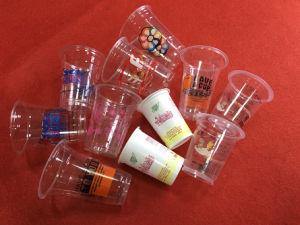 기계 Gc 6를 인쇄하는 6개의 색깔 플라스틱 컵