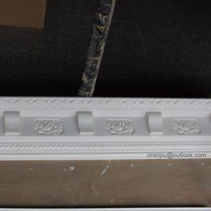 Poliuretano Corda decorativa grande cornija Crown Molding Hn-8088