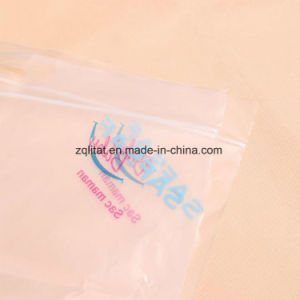 LDPE 피복 비닐 봉투 Ziplock 부대