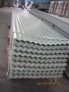 Plástico reforzado con fibra de vidrio transparente Roofingsheet FRP, junta, la luz solar Panel Roofing