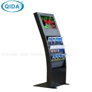 Einkaufszentrum, das LCD LED bekanntmacht Bildschirmanzeige-Screen-Hotel-Vorhalle-Kiosk steht