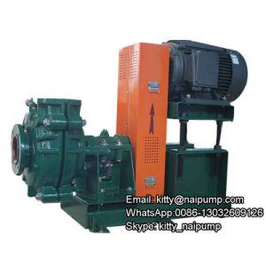 6/4 D-Ah le lisier horizontale la pompe à eau pour l'usine de ciment