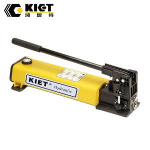 Pompa a mano idraulica leggera manuale con grande capienza dell'olio