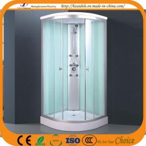 Simple ducha de vidrio blanco (ADL-8705)