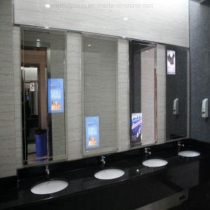 Specchio di Yashi, visualizzazione magica dell'affissione a cristalli liquidi dello specchio del sensore, video fissato al muro dello specchio
