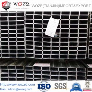 BS1387/A53炭素鋼の熱い浸された電流を通された鋼管/Tube