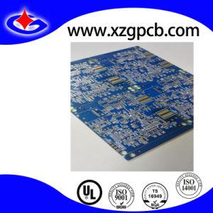 Placa de Circuito em face dupla com máscara de solda e Enig azul