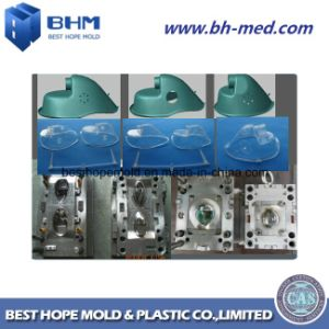 Máscara de oxigénio de adultos do molde de injeção de plástico com alta qualidade