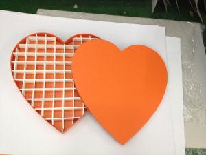 Nueva moda de Chocolate en forma de corazón de papel cartón Caja de regalo