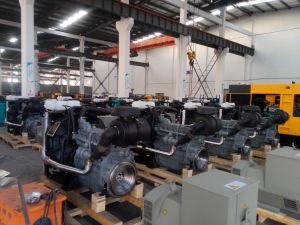 開いたLovolのディーゼル機関か無声様式によって動力を与えられる80kw/100kVA発電機