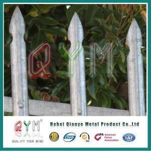 Jardim Metal paliçada empurrador do fabricante da Barragem