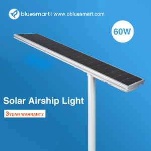 3 anni di illuminazione esterna solare della garanzia 60W per la via
