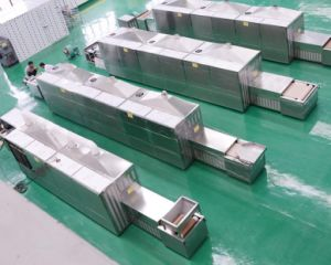 Strumentazione del forno a microonde di industria del materiale di costruzione