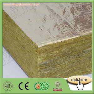 Plaque de laine de roche minérale