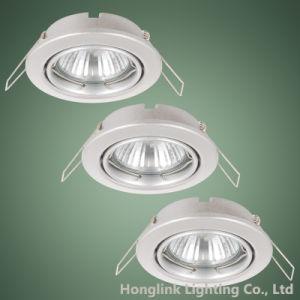 GU10 MR16 justierbare LED vertiefte Deckenleuchte-Befestigung Downlight