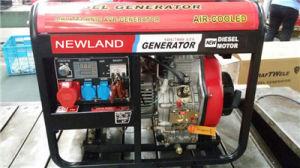 5kw Electric Diesel Generator Single Phase 5kVA Generator