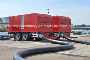 El consumo de combustible Bomba de agua impulsado por el motor de 6pulg./8pulg.