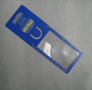 3Xリボン(HW-813)が付いているプラスチックブックマークの拡大鏡