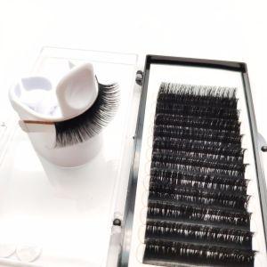 Großhandelszoll, der einzelne Schönheits-Wimper-beste falsche Datenträger-Peitschen verpackt