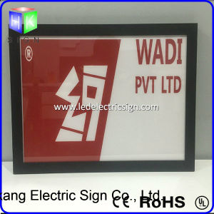 Advertizing Displayのための映像Frame Wholesale LED Light Box