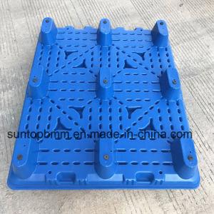 De HDPE comida de plástico reciclado de prateleira de armazenamento de mercadorias