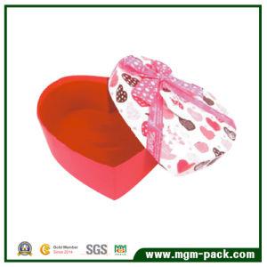 Het hete Verkoop hart-Gevormde Vakje van de Chocolade van de Gift van het Document voor Bevordering