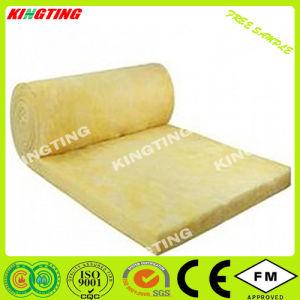 China manta de lã de vidro material de isolamento térmico de lã de vidro com folha de alumínio Isolamento Material Acústico