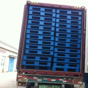 1200X1100 paletes de plástico de dupla face, paletes de plástico empilháveis, paletes de plástico reversível