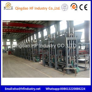 Qt5-15 de espuma de cemento de la línea de producción de máquina de ladrillos bloques de concreto