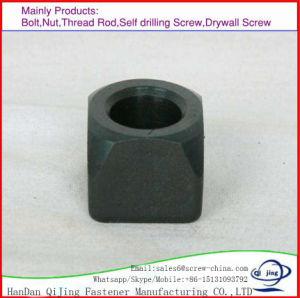 Les écrous hexagonaux en acier au carbone de grade 8/10/12 de lourdes les écrous hexagonaux M6-M48 35#/40 45#/CR/l'écrou de 35 Cr Mo